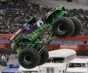 Win 4 Tix to Monster Jam!