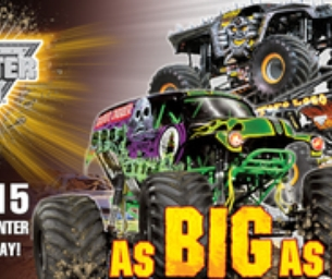 GIVEAWAY ~ Win Tickets to MONSTER JAM
