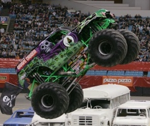 Giveaway: Family Four Pack to Monster Jam