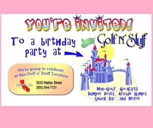 Celebrate Your Child's Special Day at Golf N' Stuff Ventura