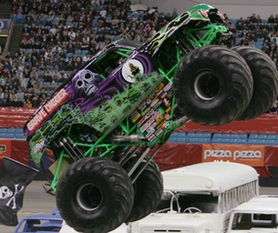 Vroom, Vroom Monster Jam is heading our way!