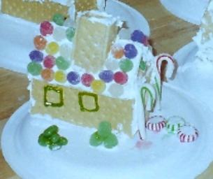 "Mini "" Gingerbread Houses """