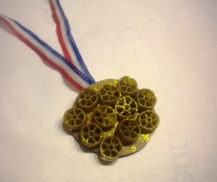 Olympic Craft: Macaroni Medals