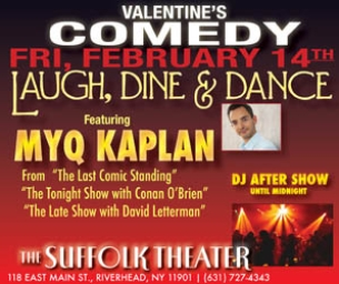 Valentine's Day at Suffolk Theater!