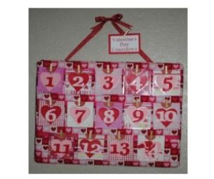 Craft Corner - Countdown to Valentine's Day!