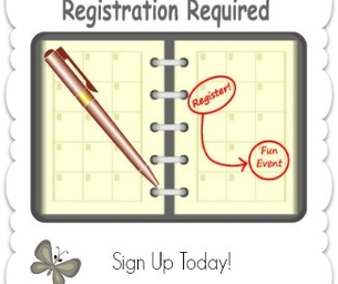 Registration Required - Upcoming Events with Registration Deadlines