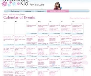 This Week's Calendar Daily Links