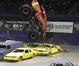 Family Fun at MONSTER JAM!