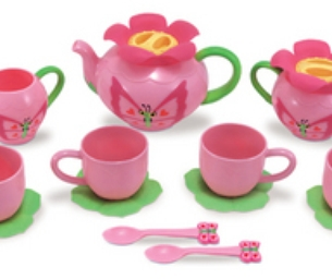 Butterfly Bella Tea Set from Melissa and Doug