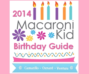 Macaroni Kid Birthday Guide Listings Start at $99 Annually