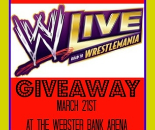 GIVEAWAY!!!  Win 1 of 8 Pairs of Tickets to see WWE LIVE!