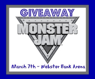 GIVEAWAY!!! Win 1 of 2 Family 4-Packs to Monster Jam