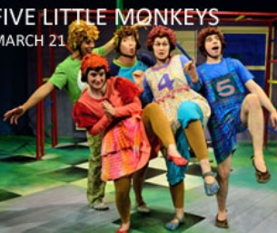 5 Little Monkeys at the Amoss Performing Arts Center