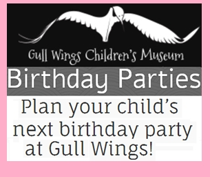 Gull Wings Children's Museum Birthday Party Packages
