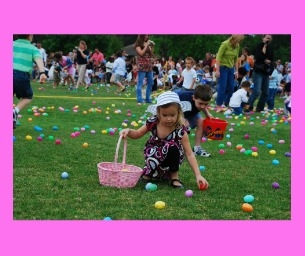 Find Eggs and Prizes at Discovery Green's Toddler Tuesday Egg Hunt