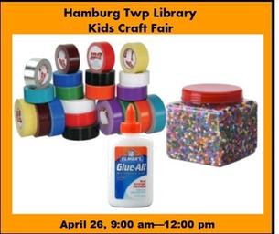 Hamburg Township Library Kids Craft Fair