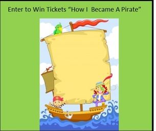 Win Tickets & Set Sail With How I Became A Pirate