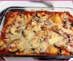 What's for Dinner? Vegetable Ravioli Bake
