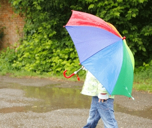 April Showers Bring … A Reason to Play in the Rain