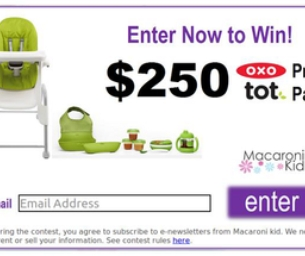 Subscriber Contest! Enter to win an OXO prize pack