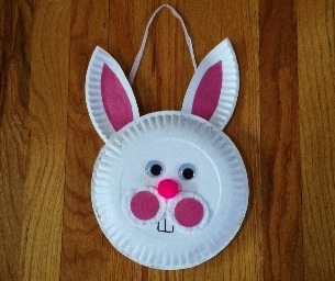 Simple and Adorable Easter Bunny Basket