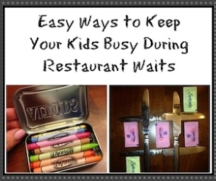 Easy Ways to Keep Your Kids Busy During Restaurant Waits