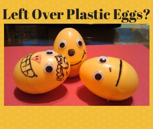 Macaroni Craft:  After Holiday Egg Craft