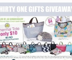 THIRTY ONE GIFTS GIVEAWAY WITH SHANNON RIZZO