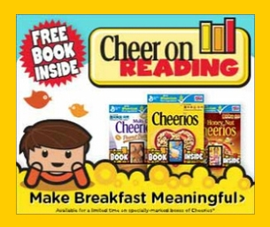 "Cheer On Reading with Cheeriosâ""¢  Make Breakfast Meaningful"