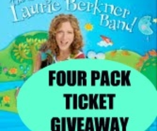 LAURIE BERKNER BAND CONCERT GIVEAWAY!