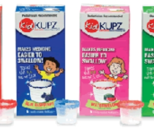 KidKupz® and Sippy Sure® Help the Medicine Go Down