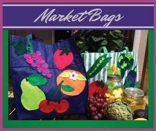 Macaroni Craft - Mommy and Me Market Bags