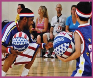GIVEAWAY - Harlem Globetrotter Basketball Clinics