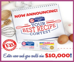 Announcing!  Eggland's Best Recipe Contest