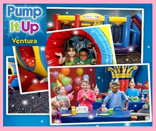 Make Your Child's Birthday Extra Special at Pump It Up Ventura