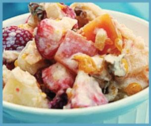 Macaroni Menu:  Fruit and Such Salad