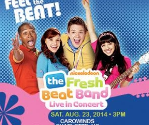 Enter to Win Tickets to The Fresh Beat Band at Carowinds!!
