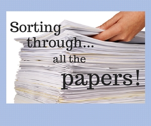 Macaroni Tip:  Sorting Through All The Papers