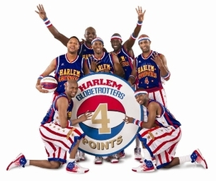 The Harlem Globetrotters are heading our way