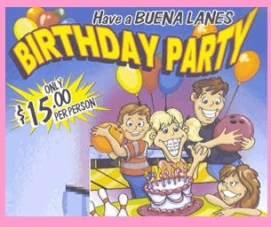 Make Birthday's a Blast at Buena Lanes