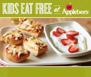 Kids Eat FREE at Applebee's Every Tuesday!