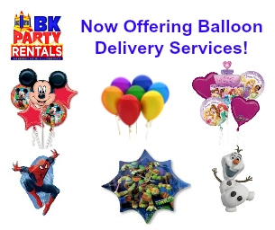 Balloon Delivery by BK Rentals