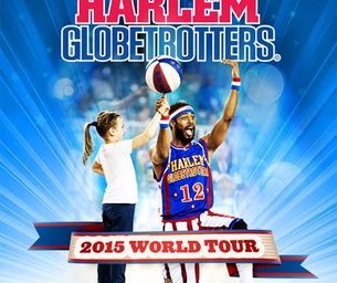 Harlem Globetrotters are coming and we have Giveaways!