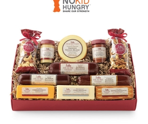 A Season of Giving with Hickory Farms and No Kid Hungry