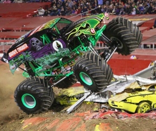 Monster Jam is coming to Worcester in February