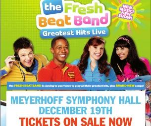 Nickelodeon's The Fresh Beat Band Returns to Baltimore