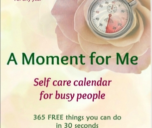 Giveaway: A Moment for Me Calendar