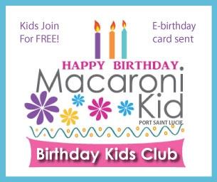 Happy Birthday Macaroni Kid Club Members!