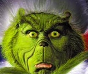 CATHY'S CORNER: Feeling Green and Grinchy