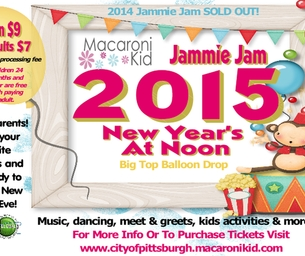 Jammie Jam 2015- New Year's At Noon